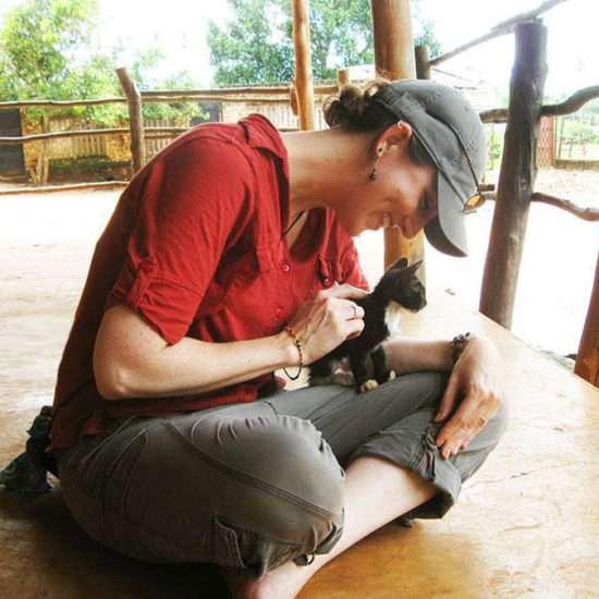 Vet-Experience-in-Tanzania-Kitten---Global-Vet-Experience