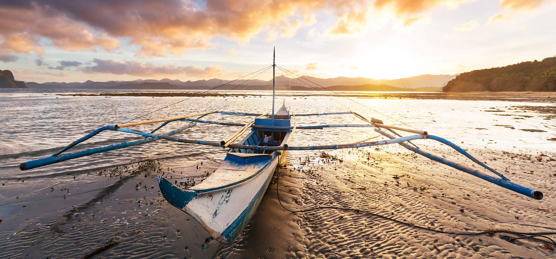 Boat in Philippines